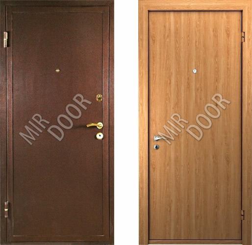 металлические двери в железнодорожном с порошковым напылением