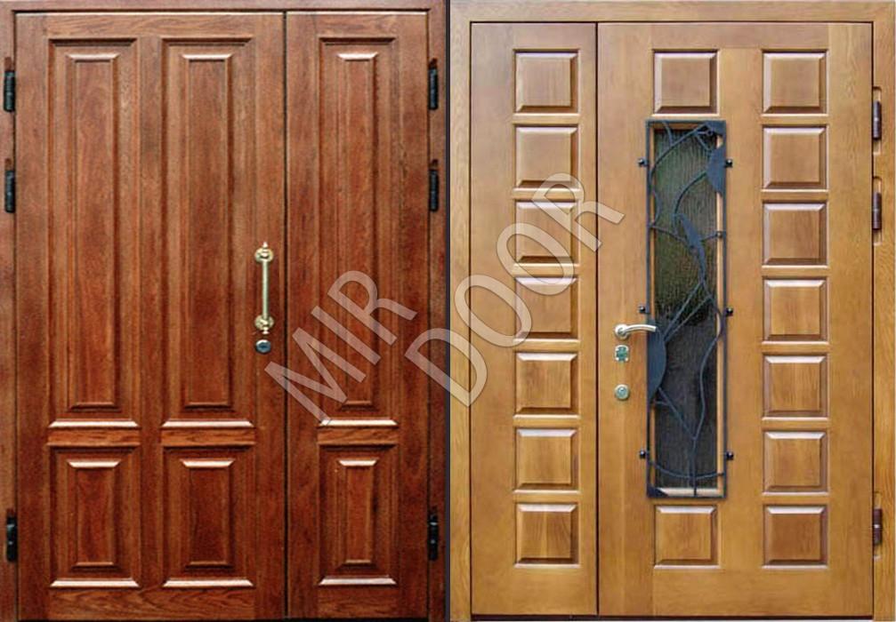дверь входная квартирная массив дерева