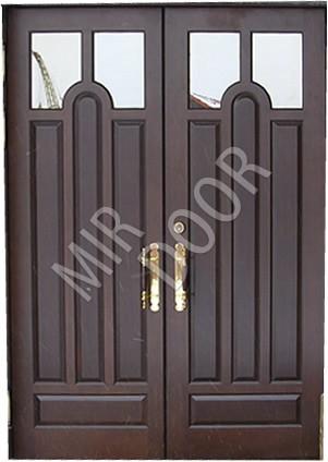 с двойными дверями железные со стеклом