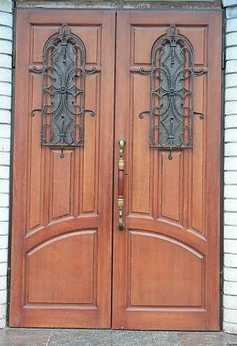 бронированные двухстворчатые входные двери