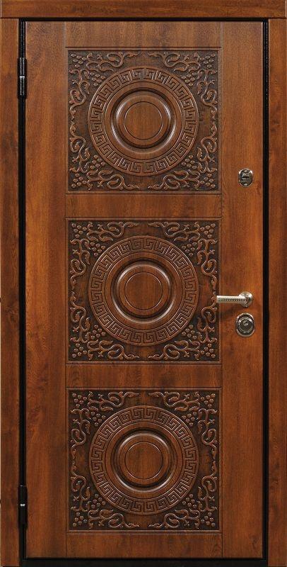 стальная дверь с художественной фрезеровкой цены