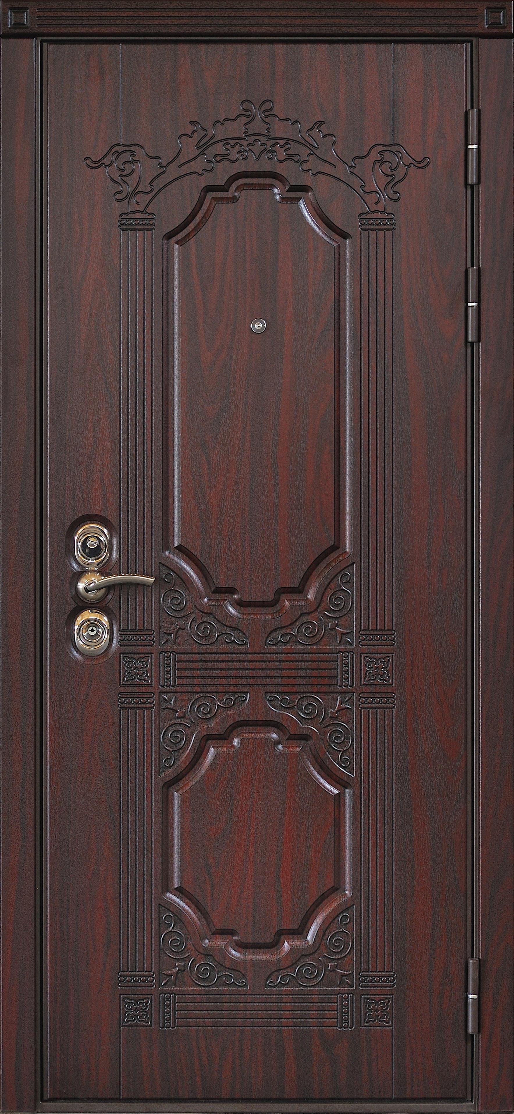 масса входной двери