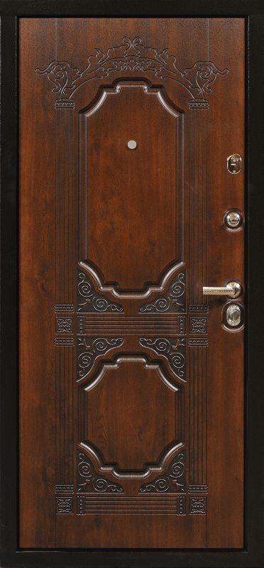 входные двери с решеткой внизу