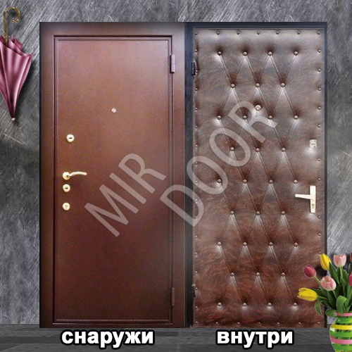 установка металлической двери на несколько квартир