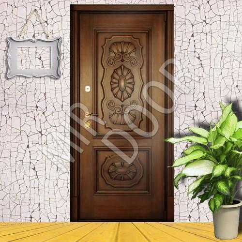 элитные двери металлические с резьбой