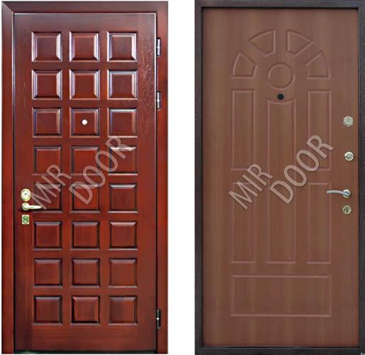 металлические двери с мдф 16 мм
