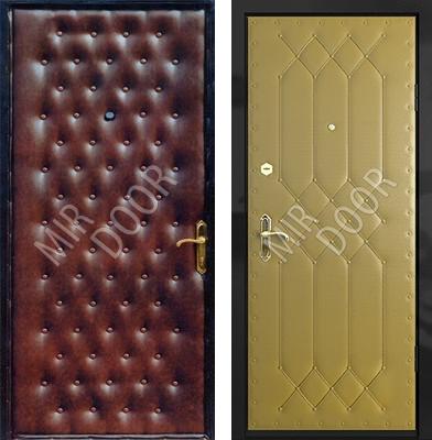 металлические двери эконом класса оптом