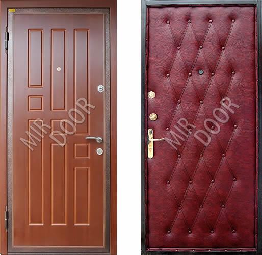 металлическая входная неутепленная дверь эконом класса