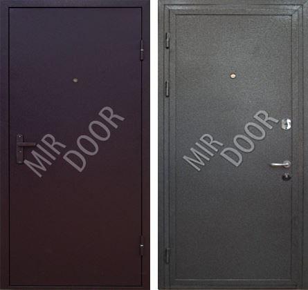 стальные двери эконом класса в воскресенске