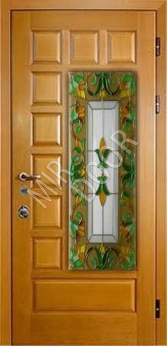 входные двери витраж