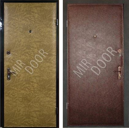 металлические двери эконом в железнодорожном