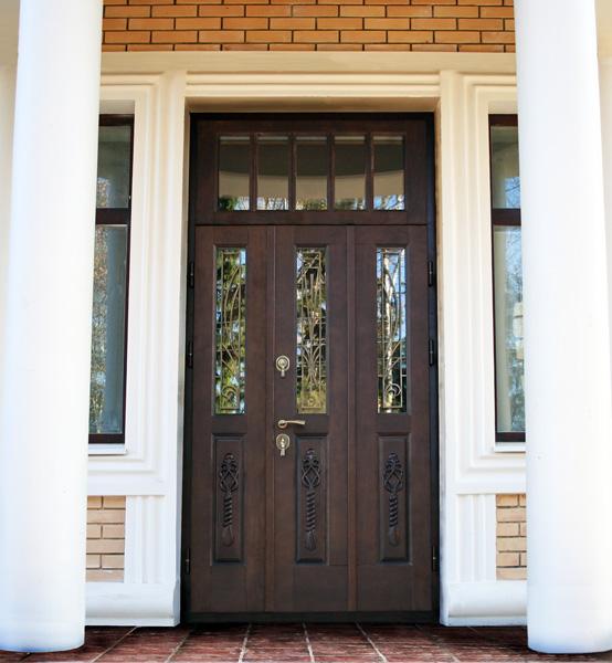 Элитные двери для загородного дома