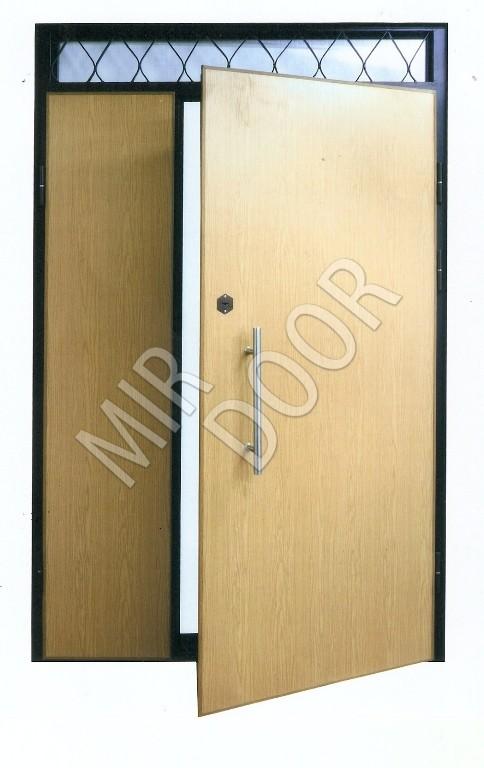 входная тамбурная дверь открытой верхней вставкой Td 12 19